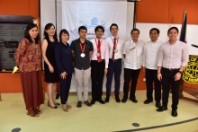 UP Diliman students acclaimed in BPI-DOST Science Awards 2017