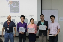 UP EEEI undergrad research bags 2nd place in COE UPC 2017