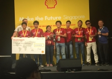 Dagisik UP wins 2nd place in Shell Eco-marathon 2017 in SG (Photo by Dagisik UP)